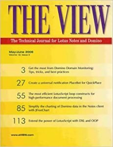 The View Technical Journal for IBM Lotus Notes and Domino