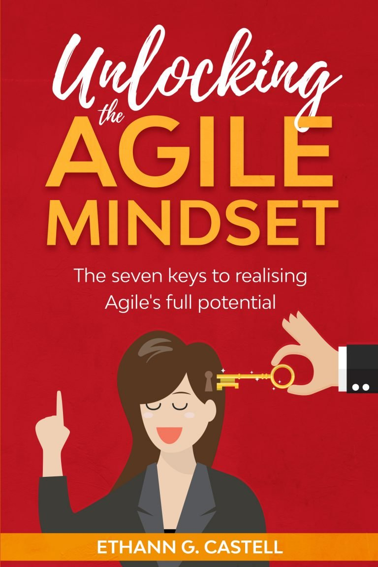 Unlocking the Agile Mindset book cover